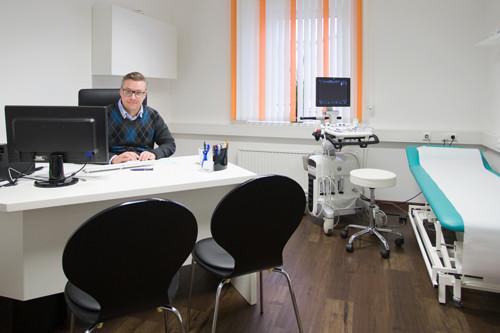 Internist Dr. Stefan Moser Facharzt für Innere Medizin, Praxis in Hörsching bei Linz, OÖ