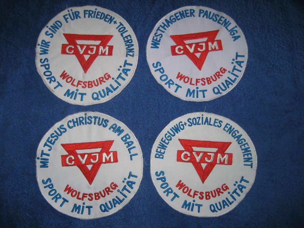 Ein bißchen Werbung für den CVJM Wolfsburg darf schon sein!