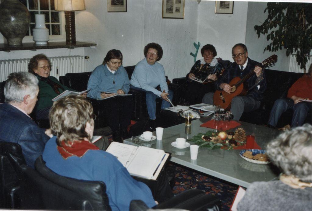 Beim Singen mit dem Nordstadt-Verein