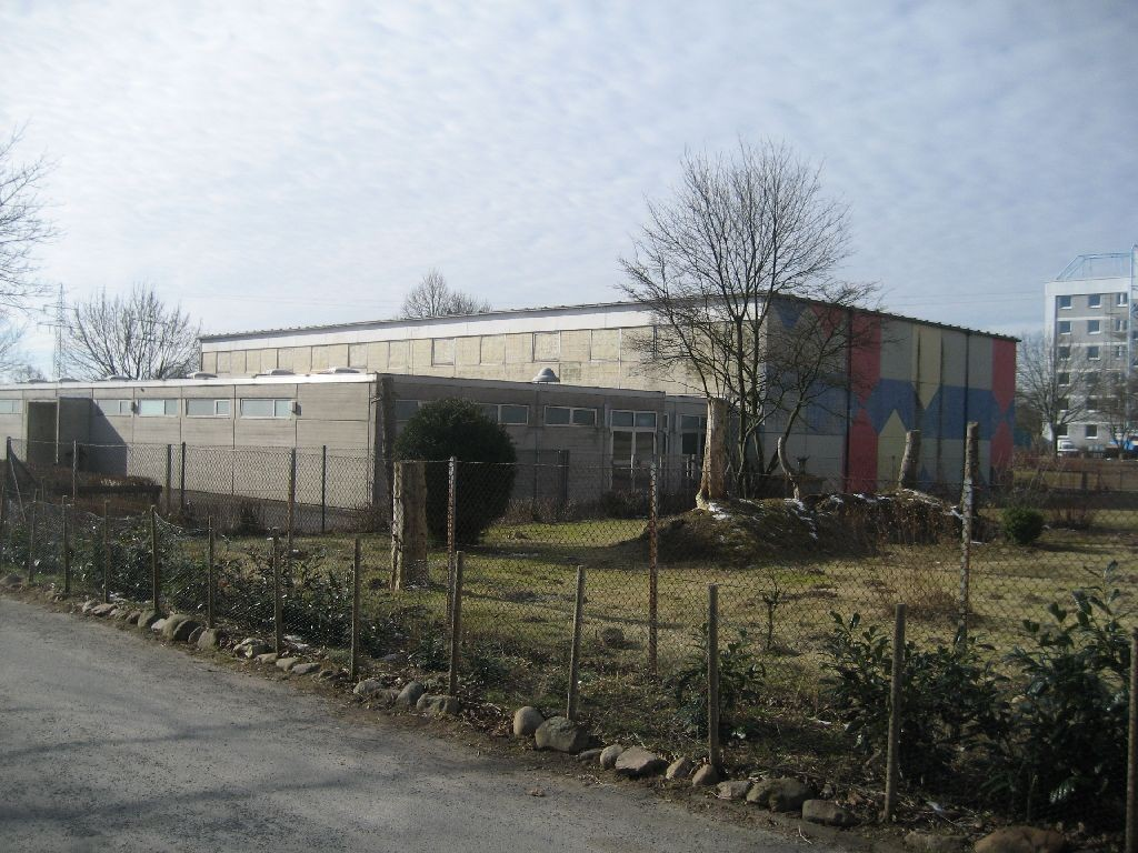 Die Sporthalle der Hans-Christian-Andersen-Grundschule