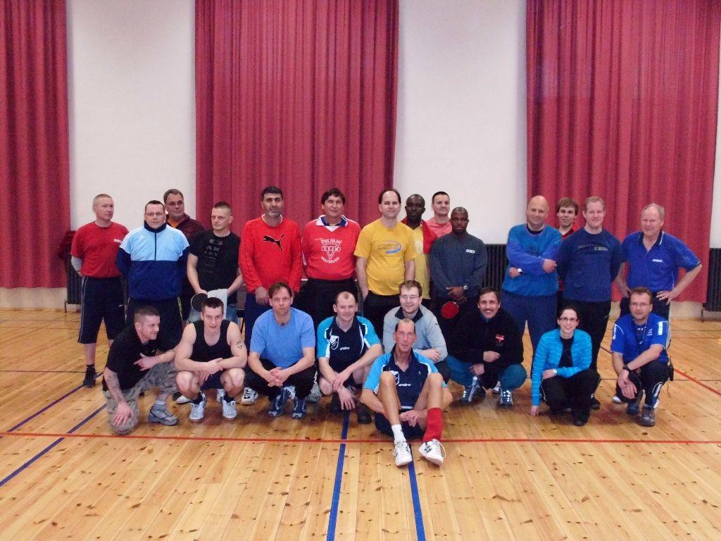 Westhagener beim Tischtennis in der Justizvollzugsanstalt Wolfenbüttel
