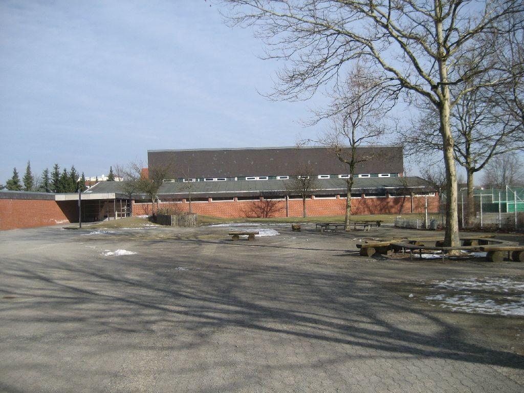 Die Sporthalle der Regenbogen-Grundschule