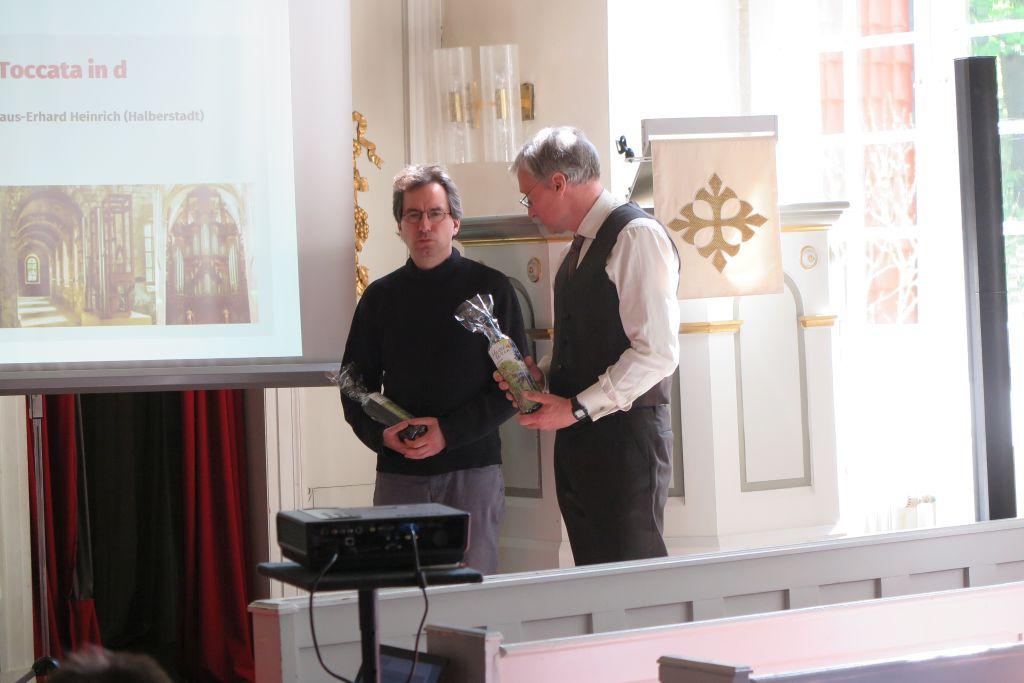Markus Manderscheid (links) und Dr. Jürgen Ehlers