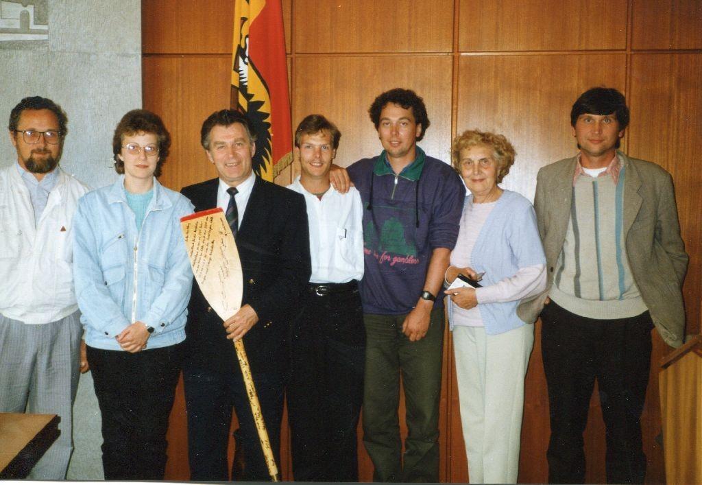 Bürgermeister Werner Kling