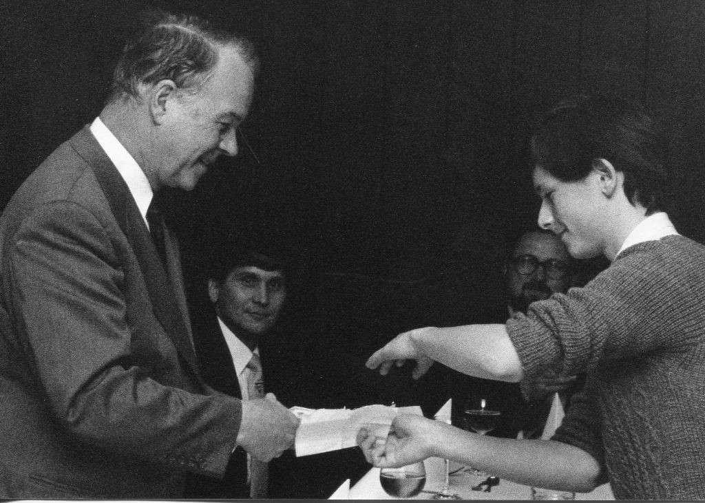 Ministerpräsident Dr. Ernst Albrecht