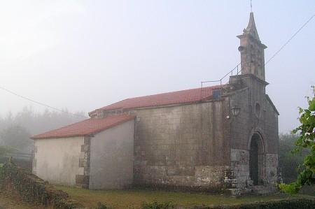 ... solo una Ermita nella nebbia ...