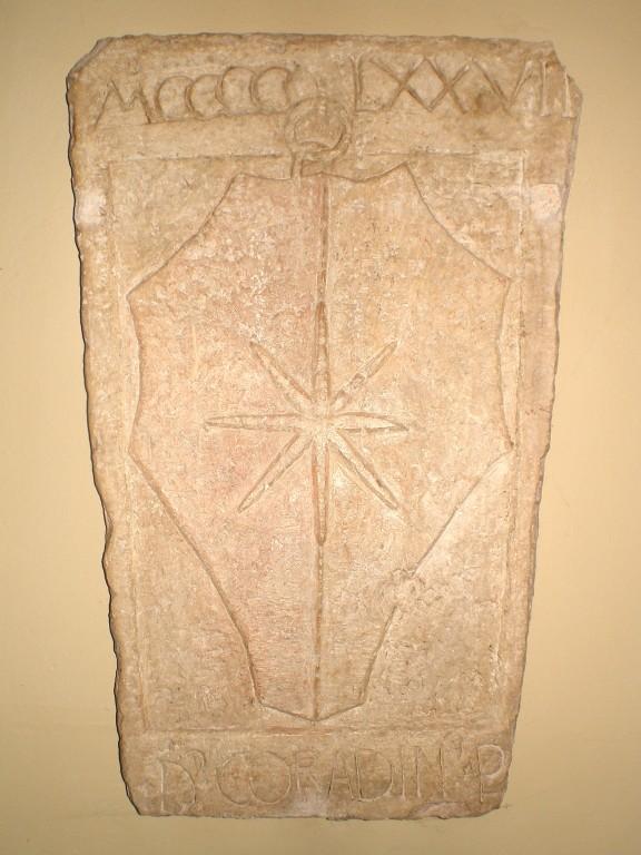 LAPIDE RITROVATA ANNO 1474