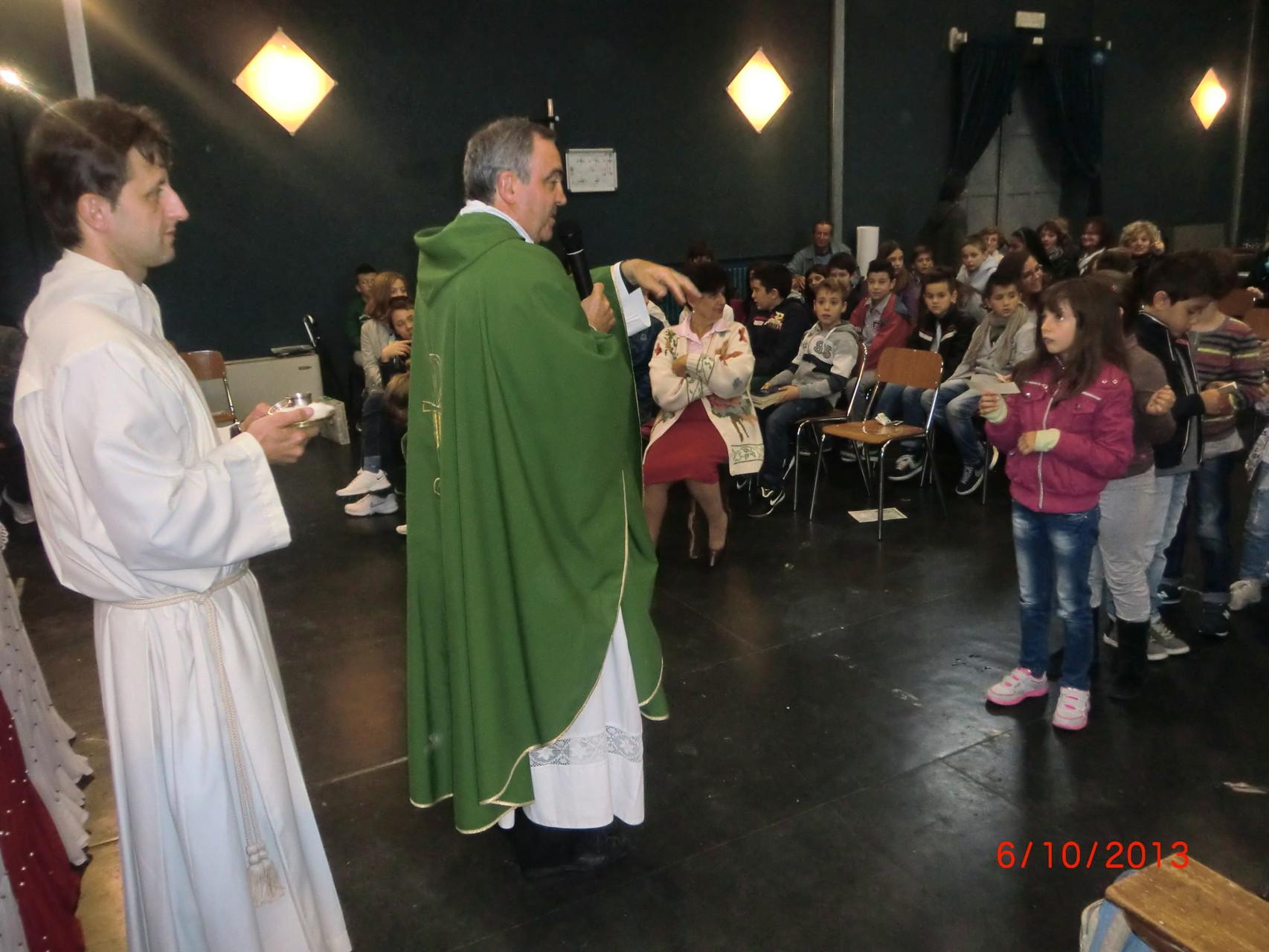 LA FOTO DEL 11.OTTOBRE -INIZIO CATECHISMO