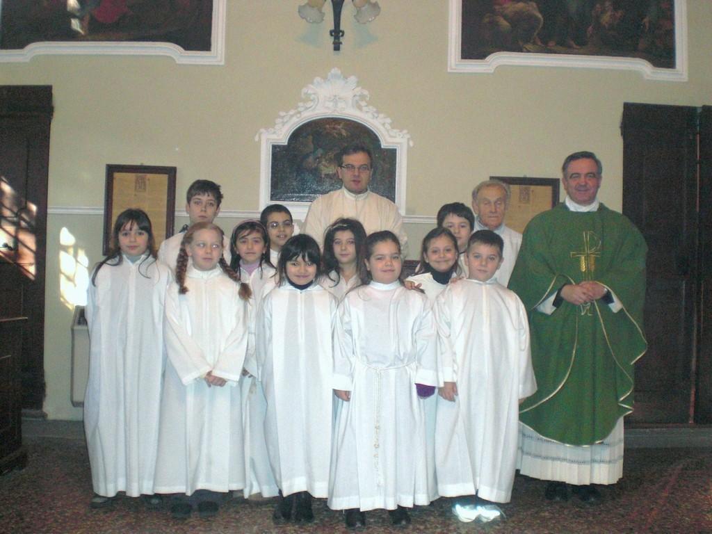 Gruppo Ministranti 2009/2010
