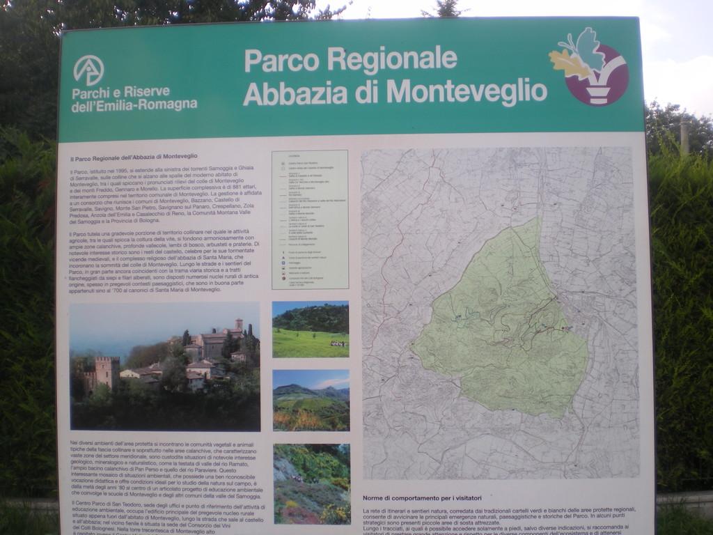 PARCO REGIONALE ABBAZIA DI MONTEVEGLIO