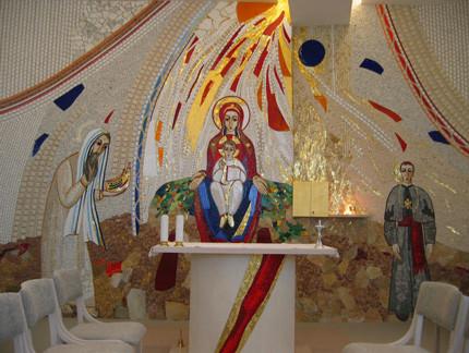 Il re Salomone chiede per intercessione della Vergine  il dono della sapienza