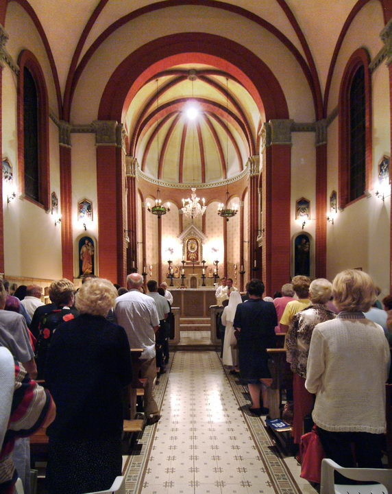 La SANTA MESSA al Santuario
