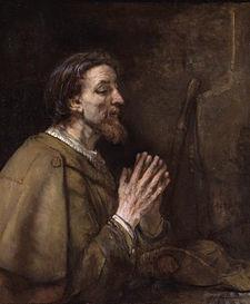 S Giacomo in preghiera (Rembrant) 1661