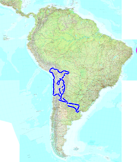 Parcours 2: Buenos Aires-Titicaca-Buenos Aires