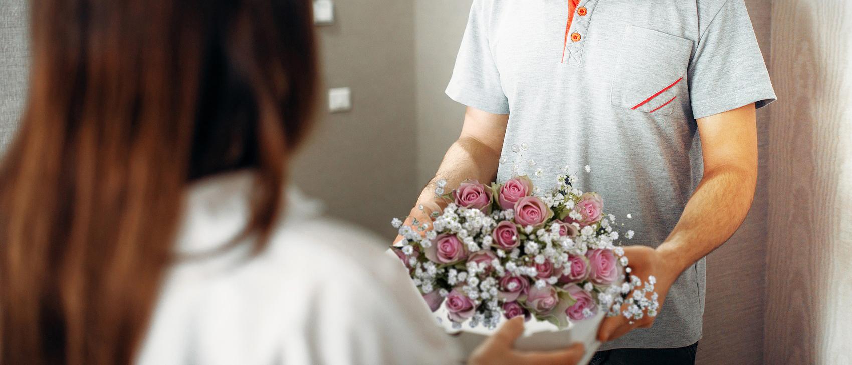 Livraison de fleurs, expédition et transmission florale