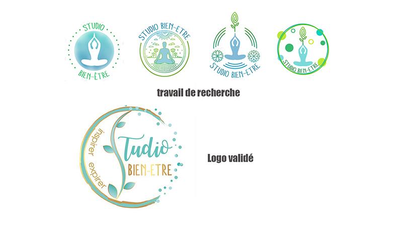 Création du logo Studio Bien-Etre