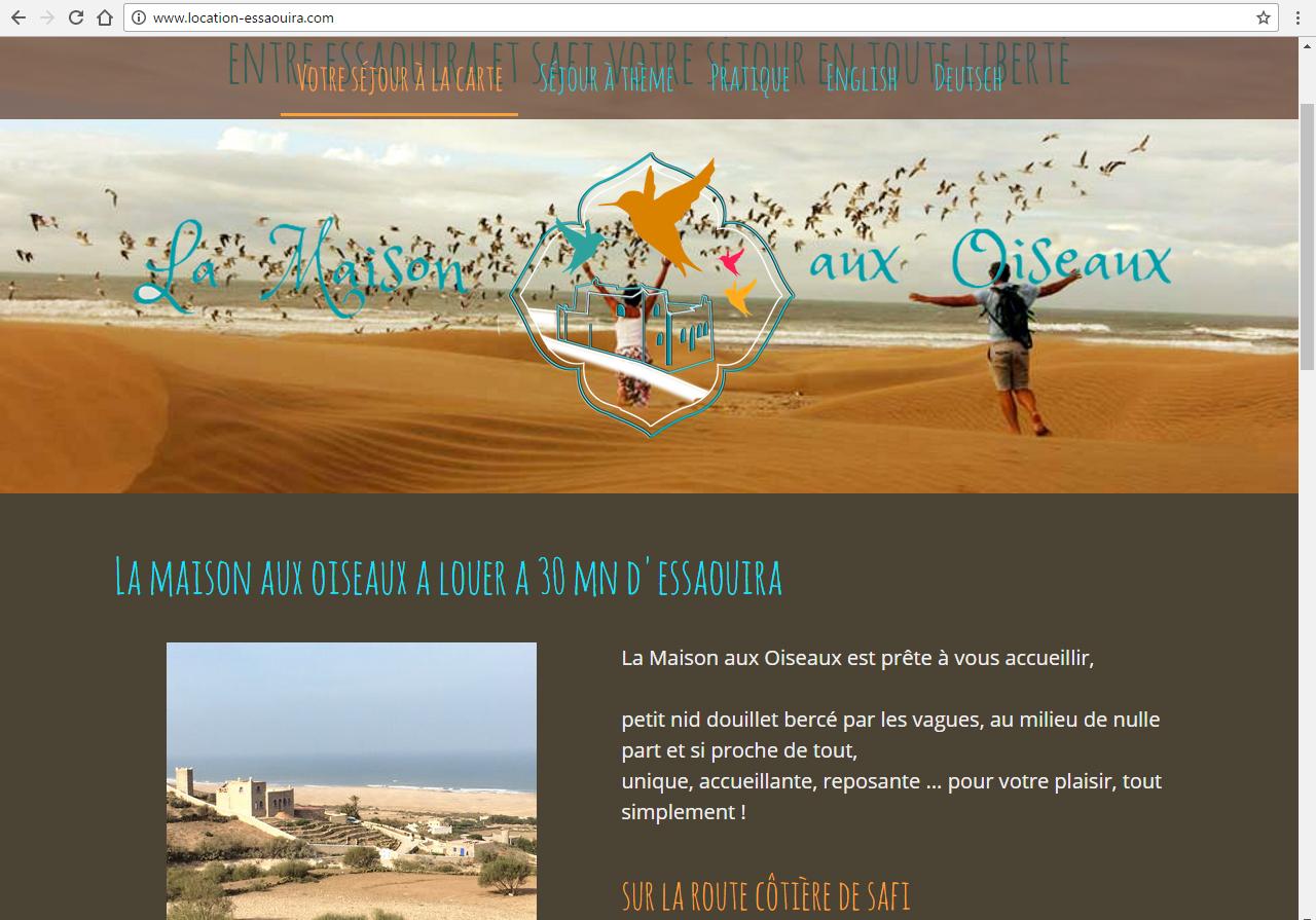 location-essaouira.com - ©Linès Création agence web Muzillac