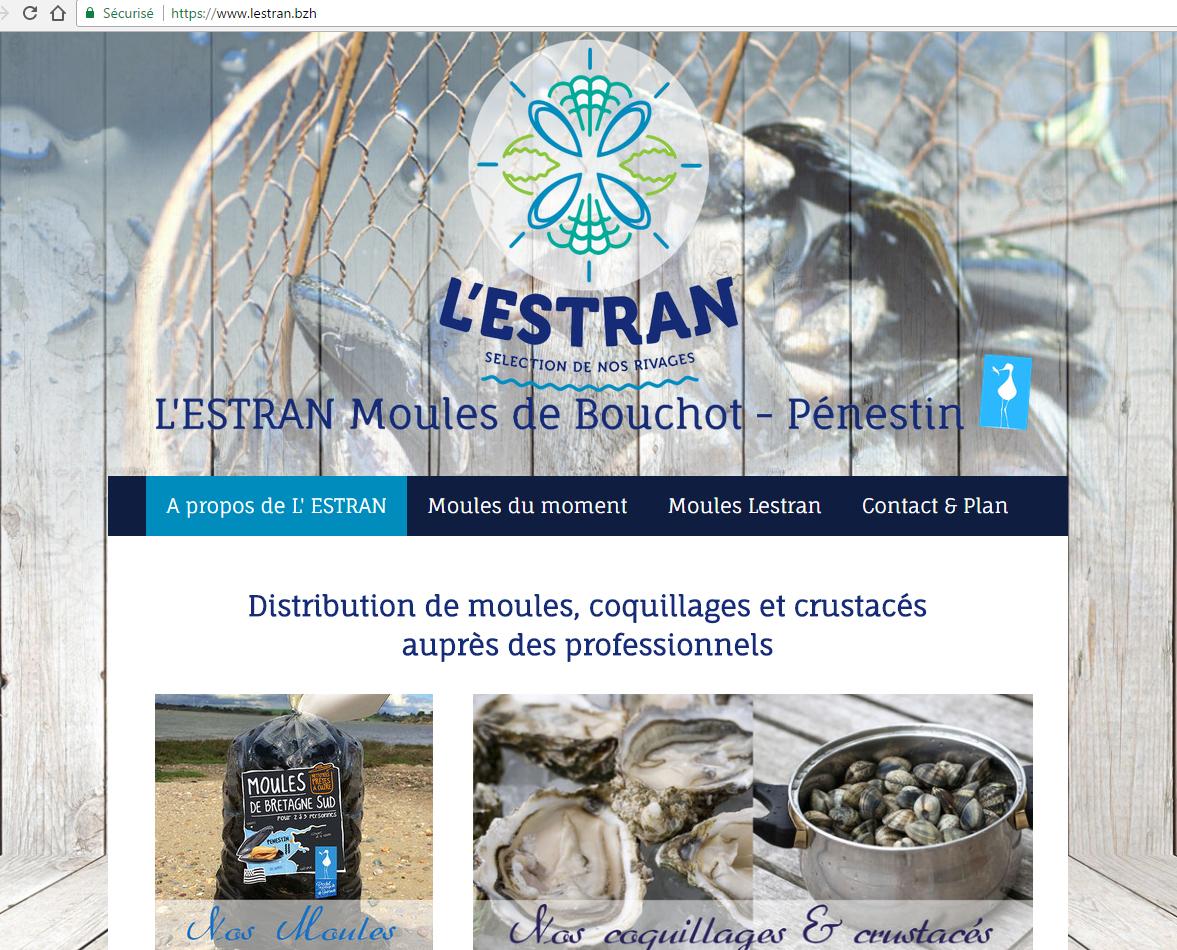 L'Estran moules de bouchots à Pénestin - webdesign & SEO