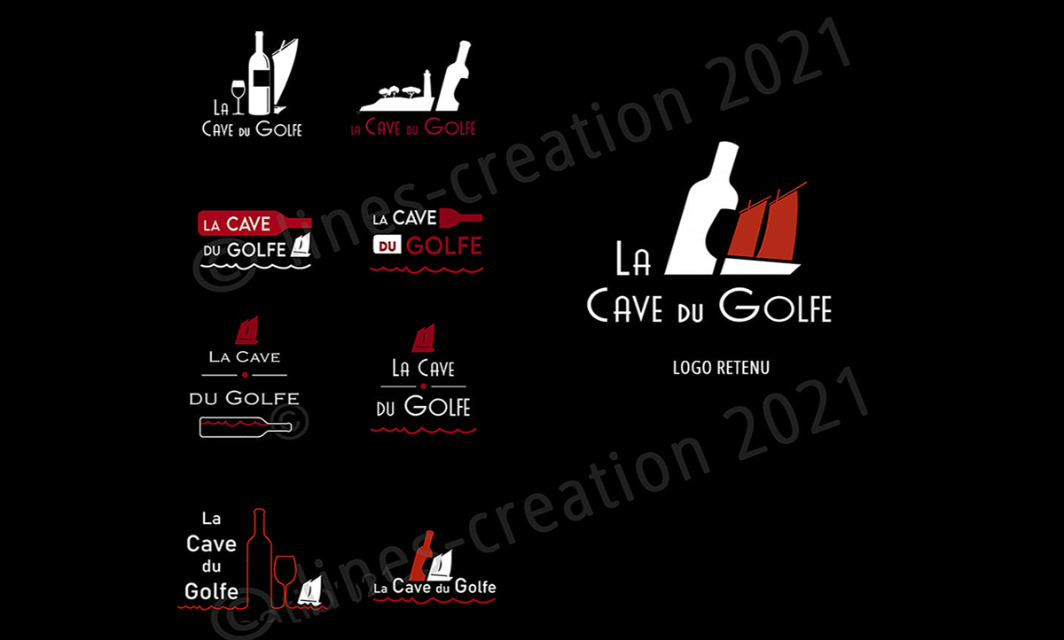 Nouvelle identité visuelle pour La Cave du Golfe à Sarzeau