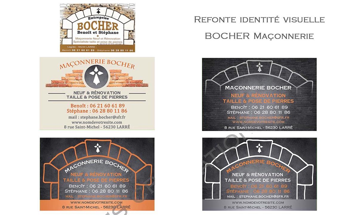 Refonte de logo maconnerie-bocher.com