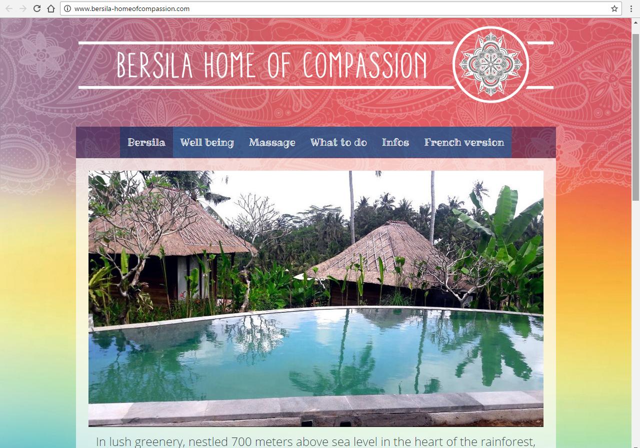 bersila-homeofcompassion.com - ©Linès Création sites internet Péaule