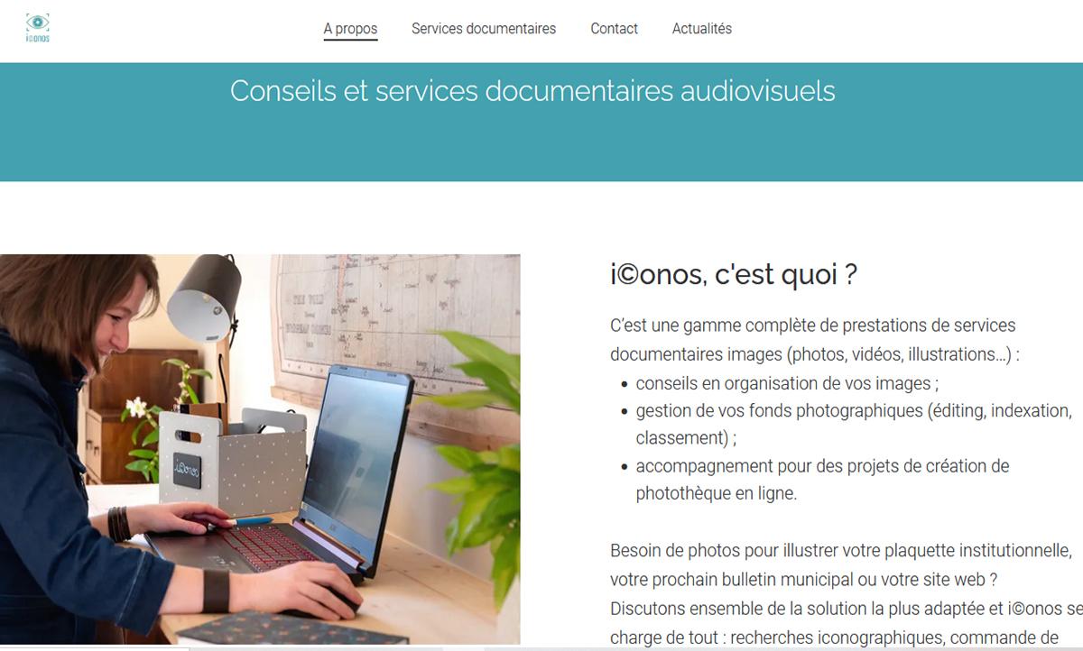 iconos.fr Conseils et services documentaires audiovisuels