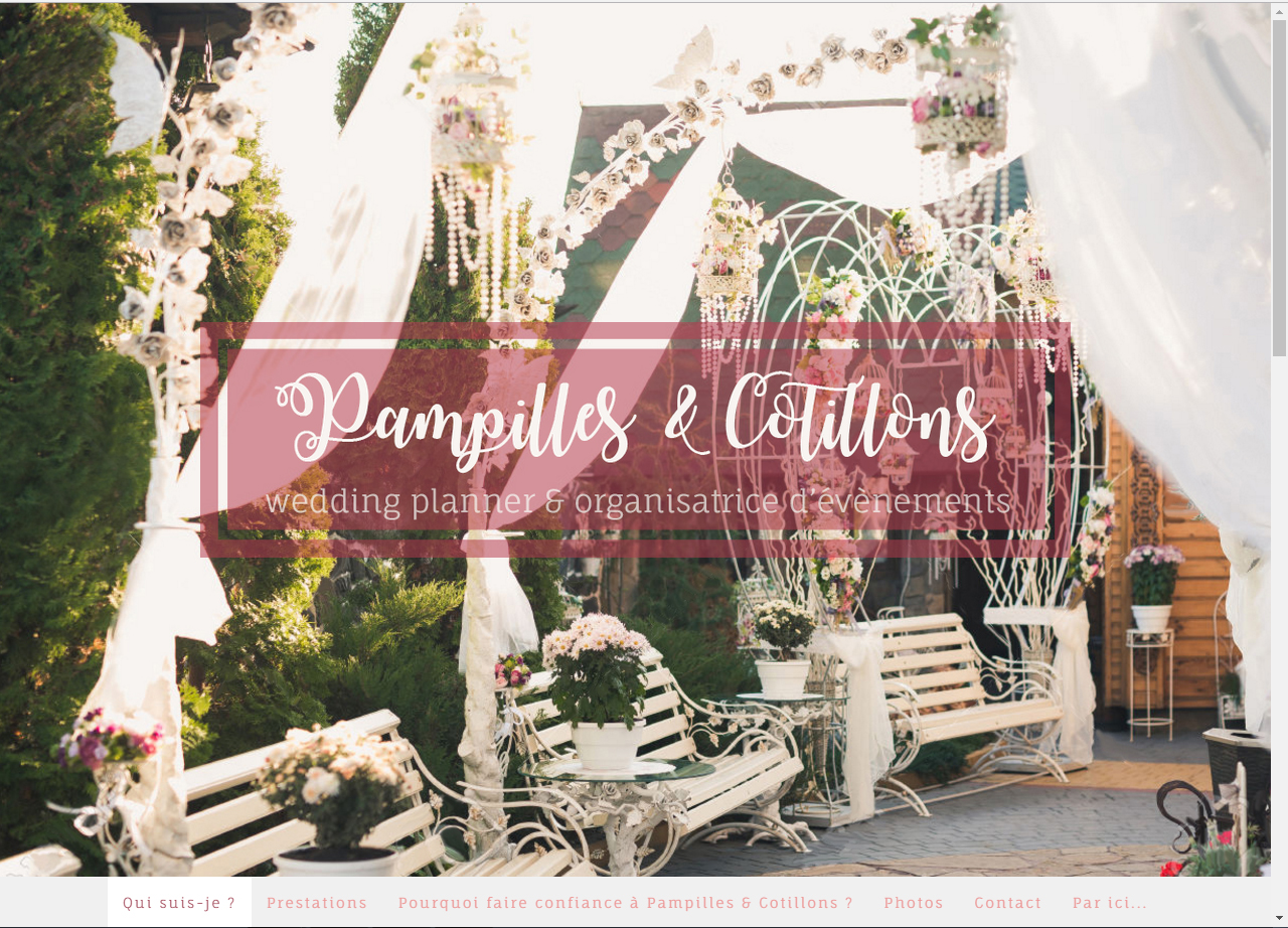 Pampilles & Cotillons wedding planner Morbihan  ©lines-creation
