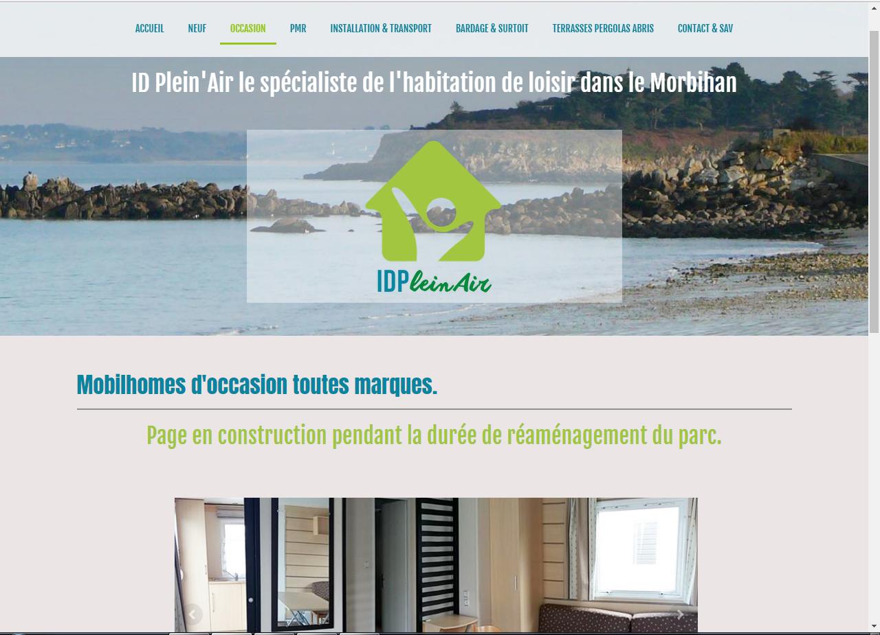 idpleinair.com Auray - ©Linès Création agence web