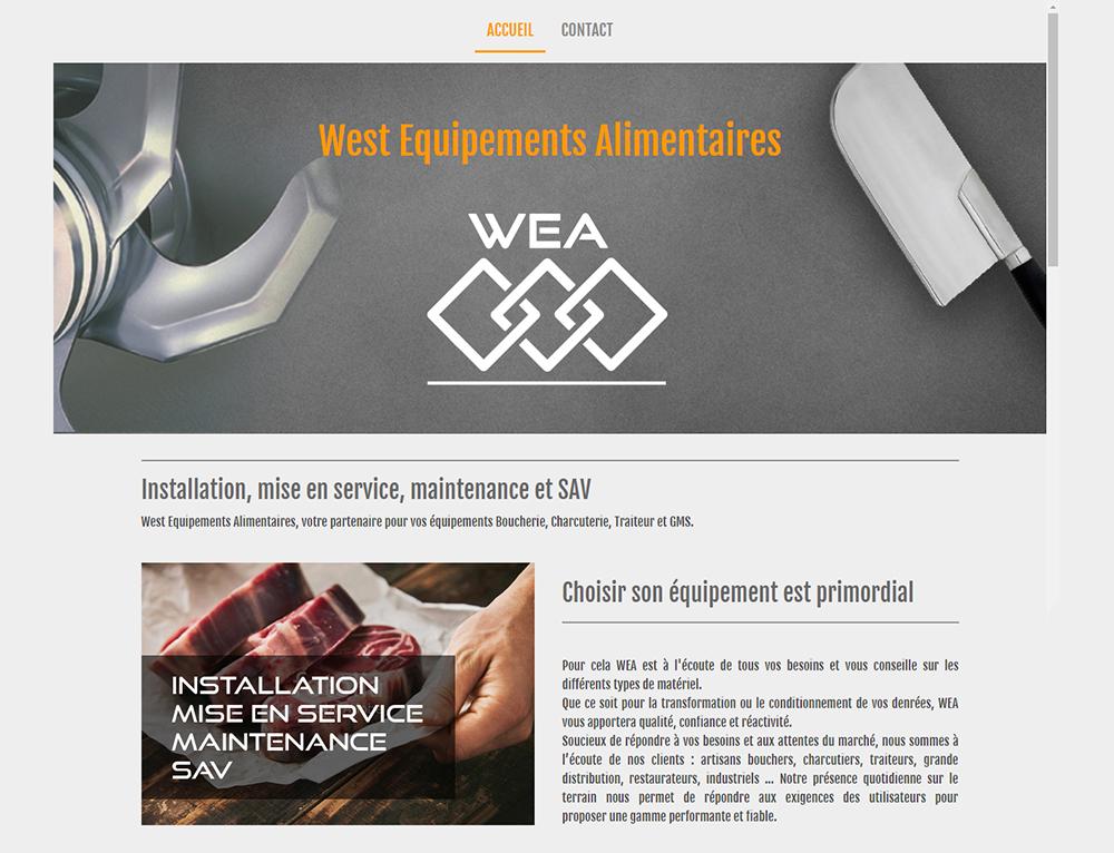 wea56.com - ©Linès Création site web matériel CTR