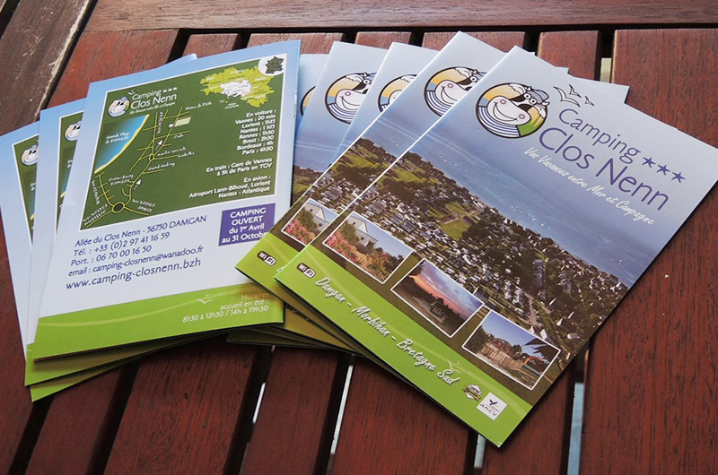 Brochures camping Clos Nenn