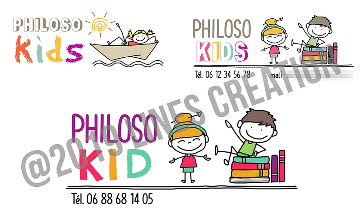Création de logo pour PhilosoKid