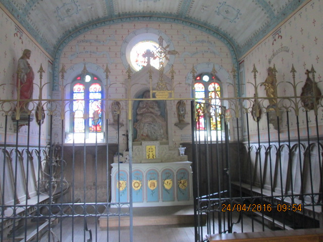 interieur de la chapelle