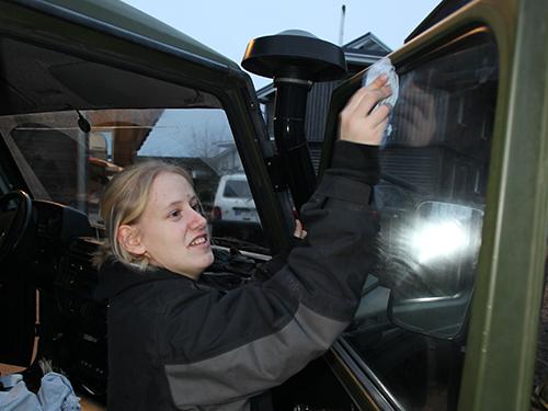 Freitags: Fahrzeugpflege