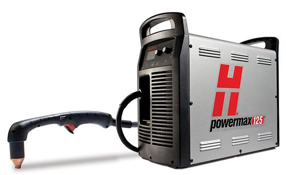 Powermax 105 Hypertherm vista de equipo