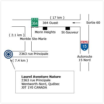 carte et directions