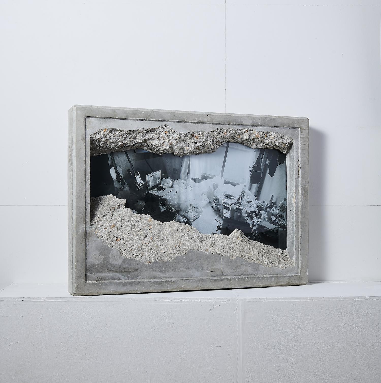 《GAZE_02》  展示撮影:Keisuke Inoue、撮影助手:Ryoko Inoue