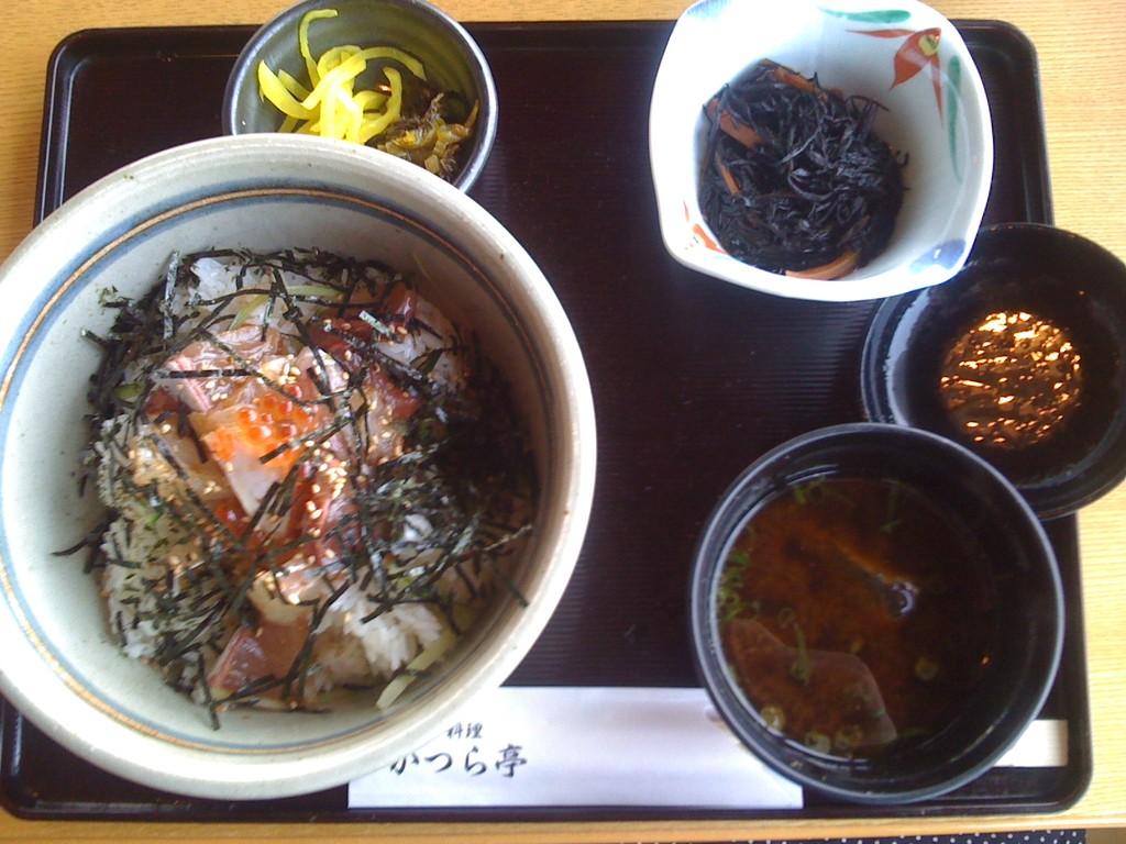 漁師丼 1400円