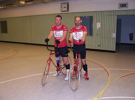 RSV Solidarität Pullach 1 mit Andreas Zöpfl und Ersatzspieler Peter Wolf-Dölling