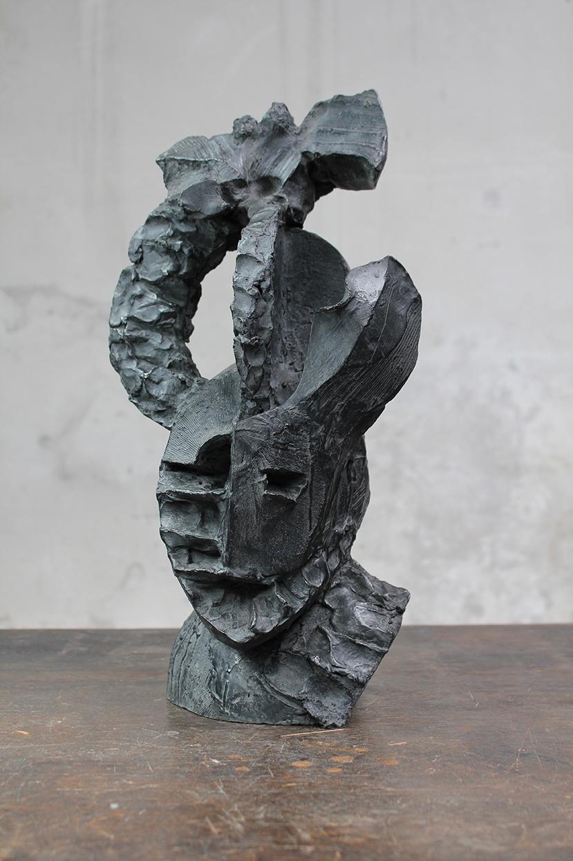 Pion, monnaie de sa pièce, 2016, bronze, 46 x 27 x 23 cm <br> © Mathilde de Torhout