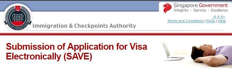 Проверить статус визы в Сингапур