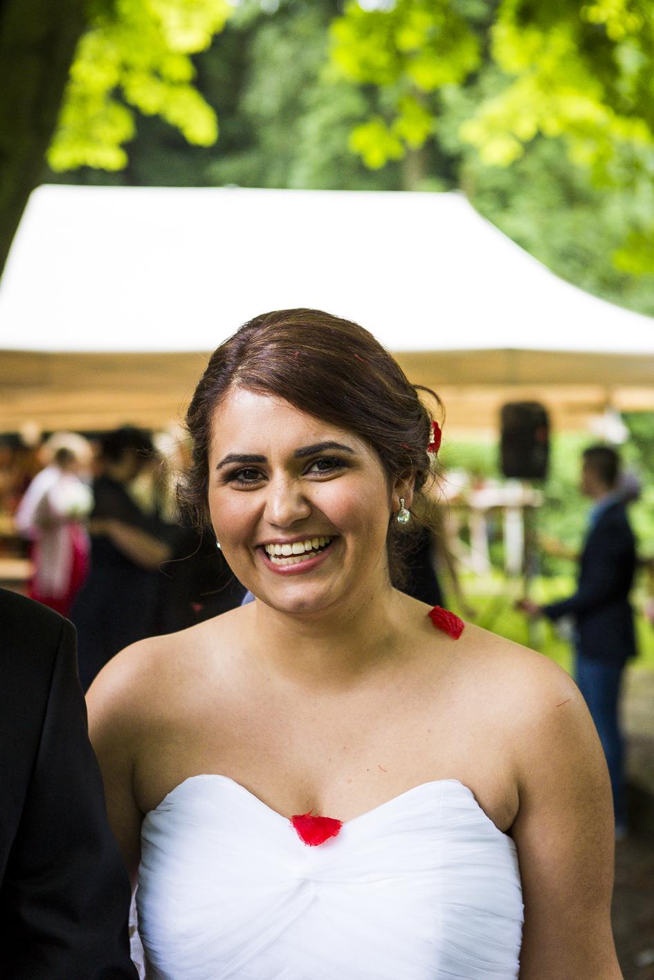 Braut-lächeln