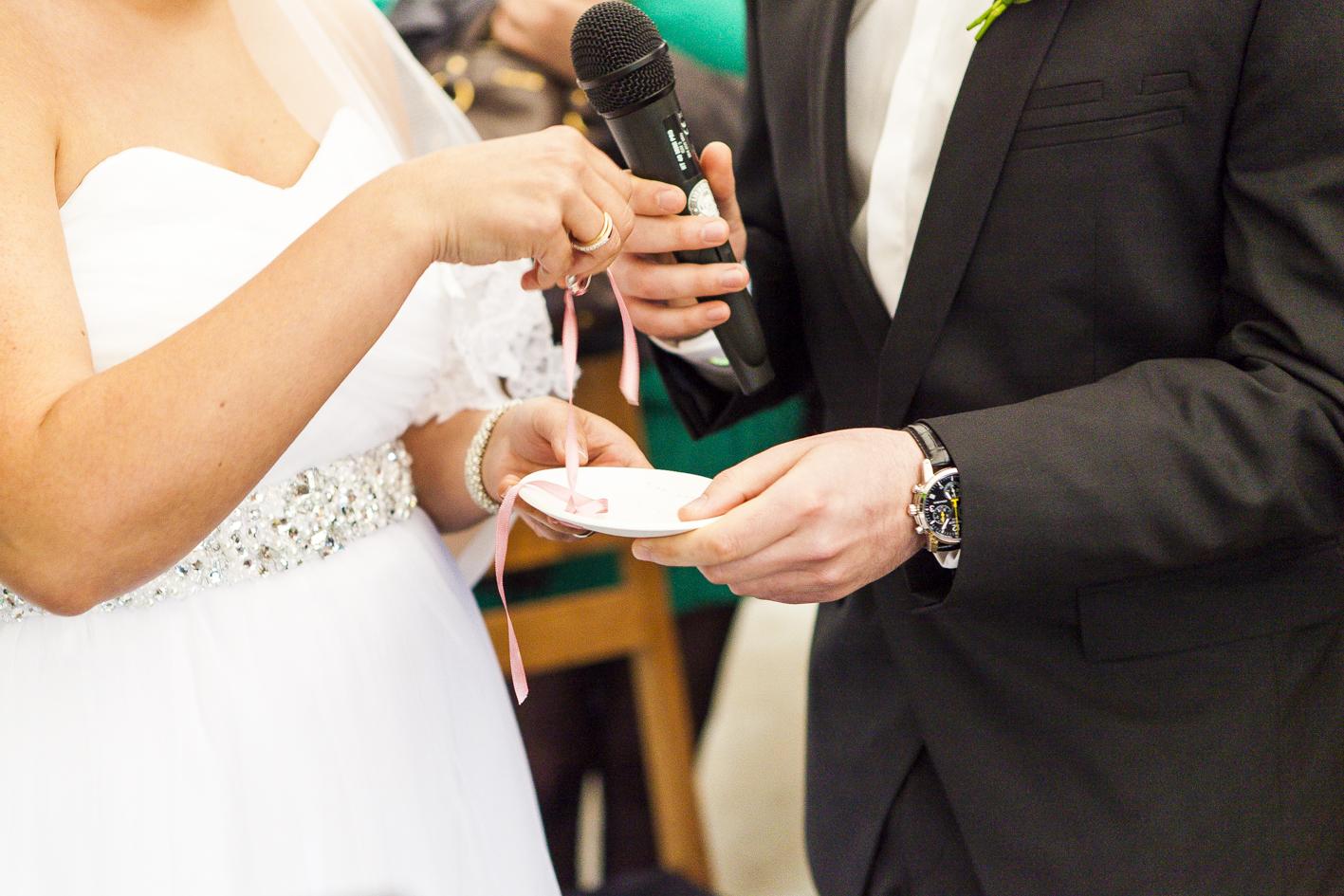 Ringwechsel-Eheversprechen