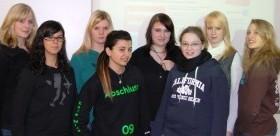 Das Team aus dem Schuljahr 2008/2009