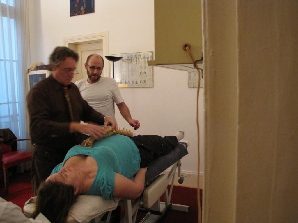 Journée clinique pour Christophe