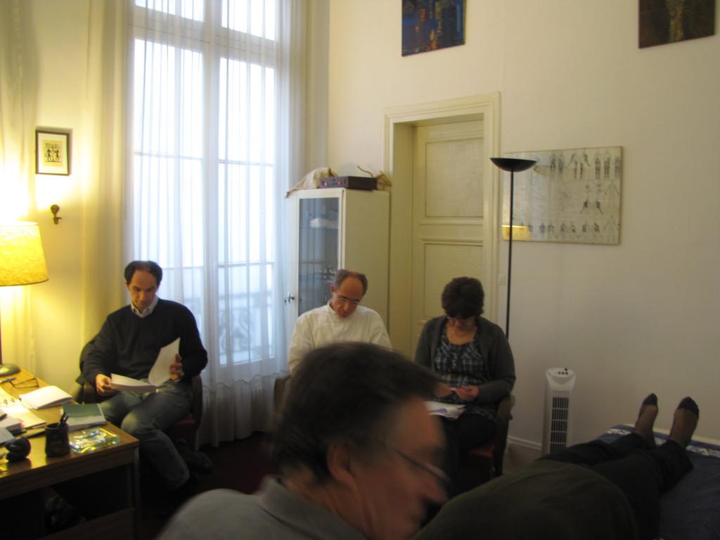 Francoise, Vincent et  Pascal