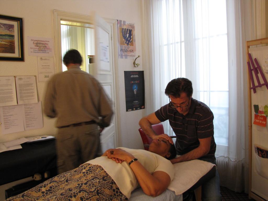 Journée clinique pour Frédéric