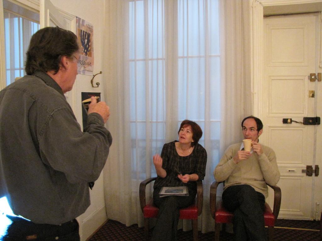 Discussion  avec Françoise et Vincent