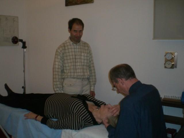 Bruno & Pascal  : pratique sur les patients