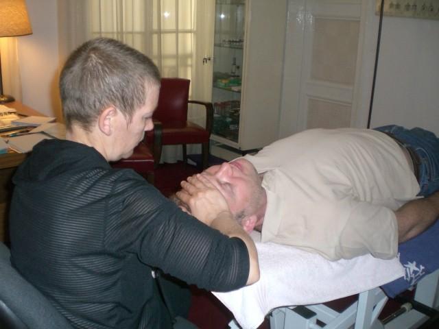Pratique sur les patients pour Luce Marie