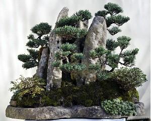(33) Felsenlandschaft - ca. 12 Jahre